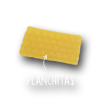 PLANCHITAS (Maíz)